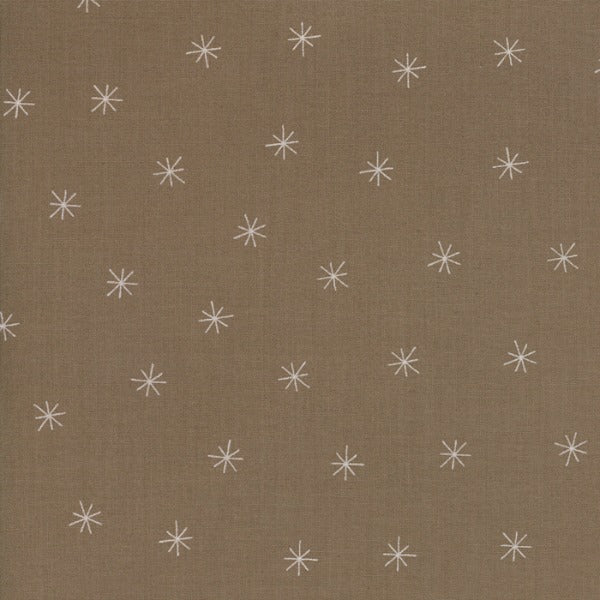 Merrily by Gingiber - Snowy Stars in Cocoa (48213-29)