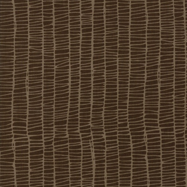 Merrily by Gingiber - Weave in Chocolate (48215-18)