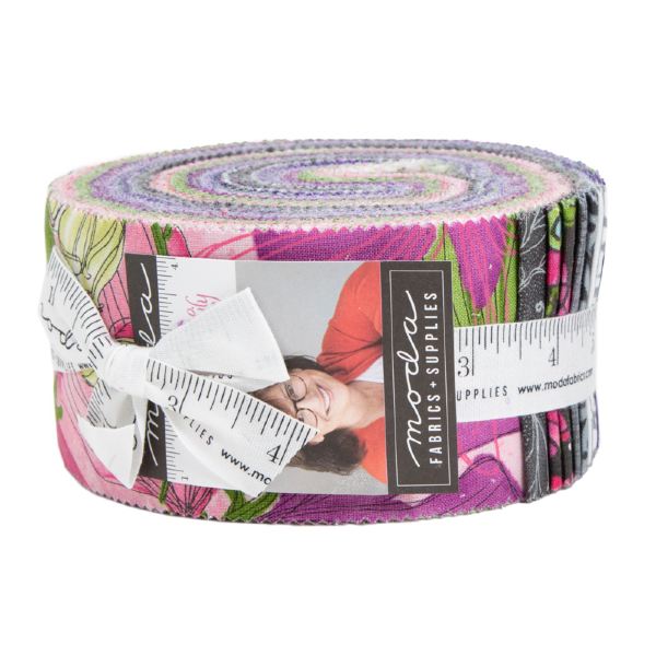 Sweet Pea & Lily by Robin Pickens - Jelly Roll (48640JR)