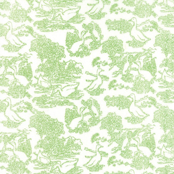 Gooseberry by Lella Boutique - Toile Waddle in Cloud Leaf (5012-11)