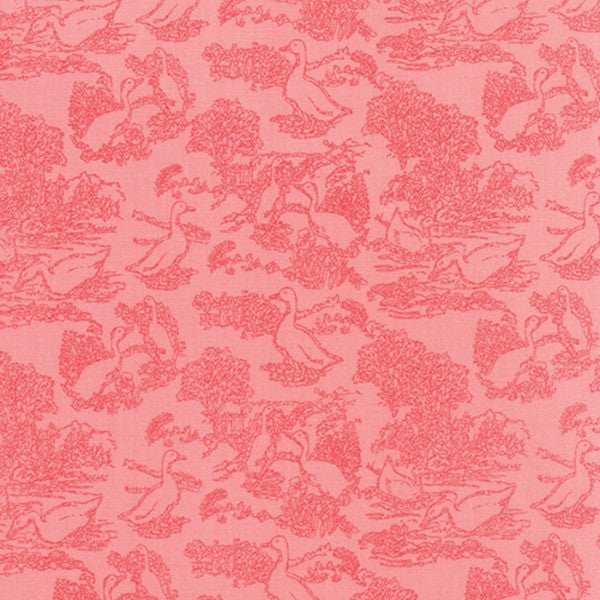 Gooseberry by Lella Boutique - Toile Waddle in Petal Pink (5012-12)