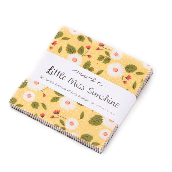 Little Miss Sunshine by Lella Boutique - Charm Pack (5020PP)