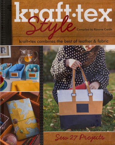 Book - Kraft-Tex Style by Roxane Cerda (11063)