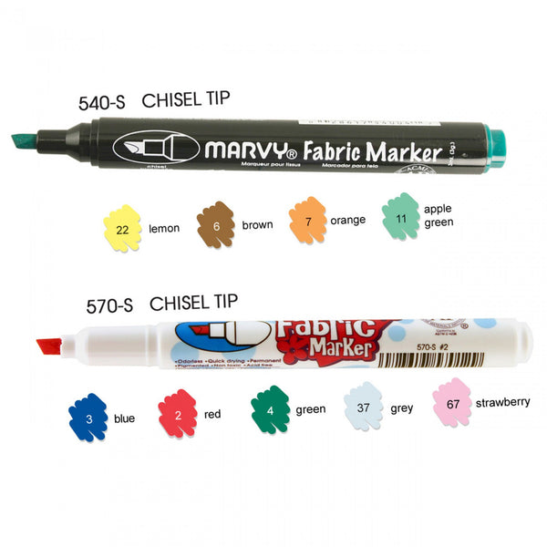 9 Piece Fabric Marker Set by Susybee (540-570-9)