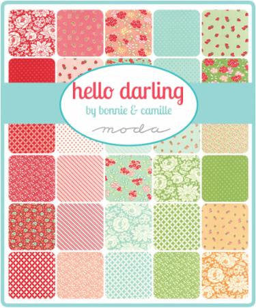 Hello Darling by Bonnie and Camille - Coral Dainty (55117-27)