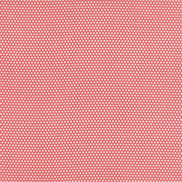 Little Ruby by Bonnie and Camille - Little Bliss Dots in Red FLANNEL (55134-11F)