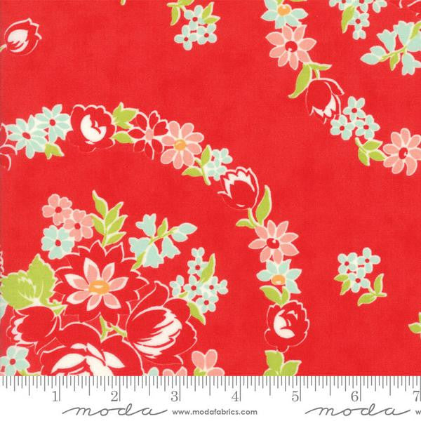 Handmade by Bonnie and Camille - June in Red (55140-11)