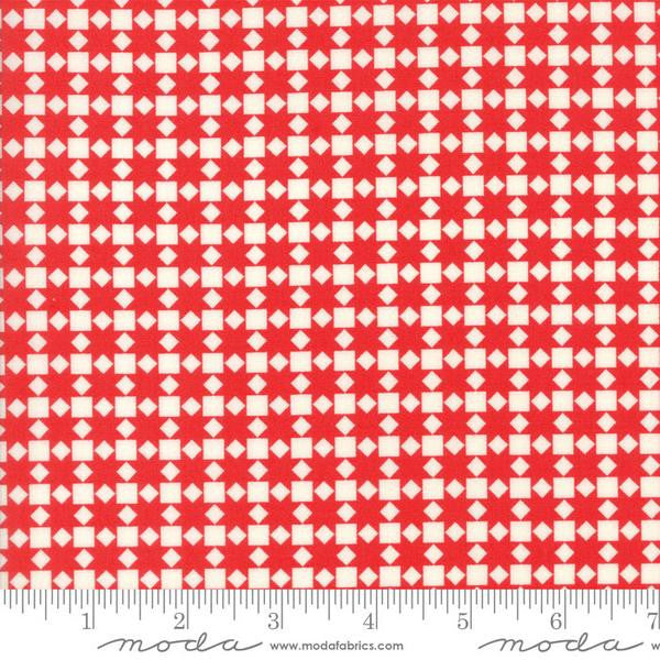 Handmade by Bonnie and Camille - Star Quilt in Red (55142-21)