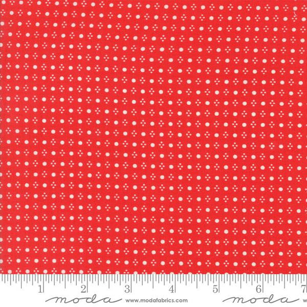 Handmade by Bonnie and Camille - Spots in Red (55143-11)