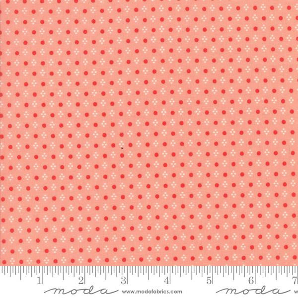 Handmade by Bonnie and Camille - Spots in Coral (55143-13)