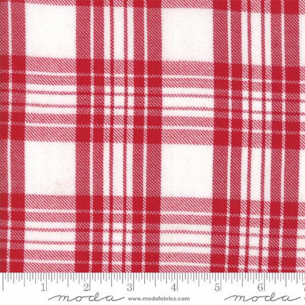 Oxford Wovens by Sweetwater - Oxford Plaid in Red (5715-11)