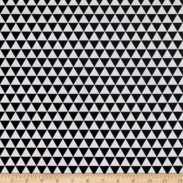 The Gosford Park by Laura Ashley - Triangles in Black & White (71170608)