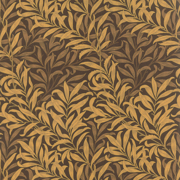 Best of Morris by Barbara Brackman - Chrysanthemum in Brown (8115-26)