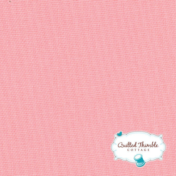 Bella Solids by Moda Fabrics - Bettys Pink (9900-120)