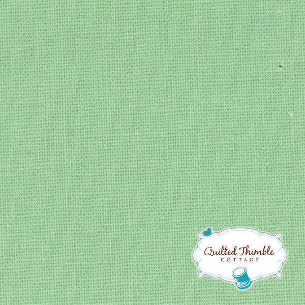 Bella Solids by Moda Fabrics - Bettys Green (9900-121)