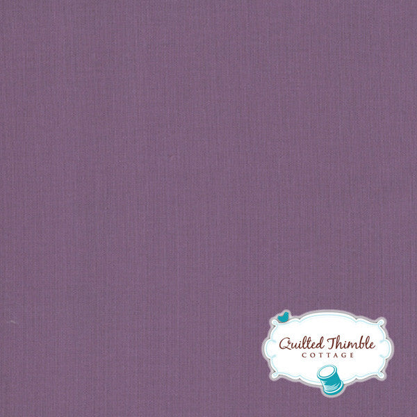 Bella Solids by Moda Fabrics - Aubergine (9900-139)