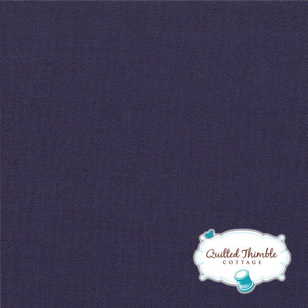 Bella Solids by Moda Fabrics - American Blue (9900-174)