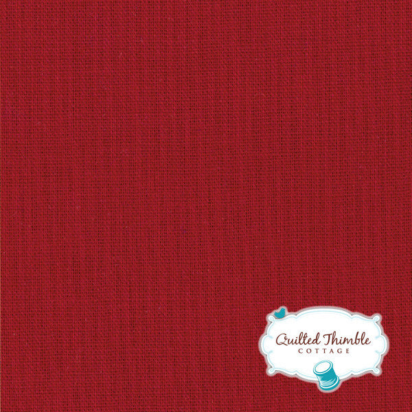 Bella Solids by Moda Fabrics - Country Red (9900-17)