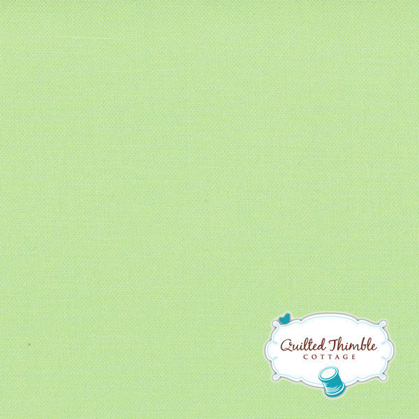 Bella Solids by Moda Fabrics - Green Tea (9900-187)