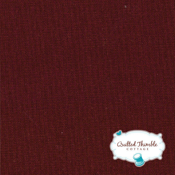 Bella Solids by Moda Fabrics - Burgundy (9900-18)
