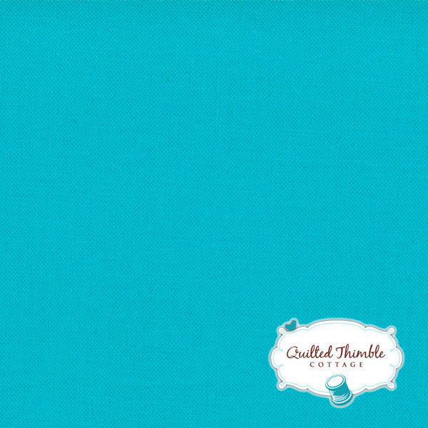 Bella Solids by Moda Fabrics - Turquoise (9900-191)