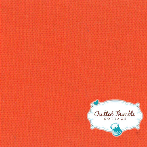 Bella Solids by Moda Fabrics - Clementine (9900-209)