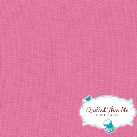 Bella Solids by Moda Fabrics - 30's Pink (9900-27)