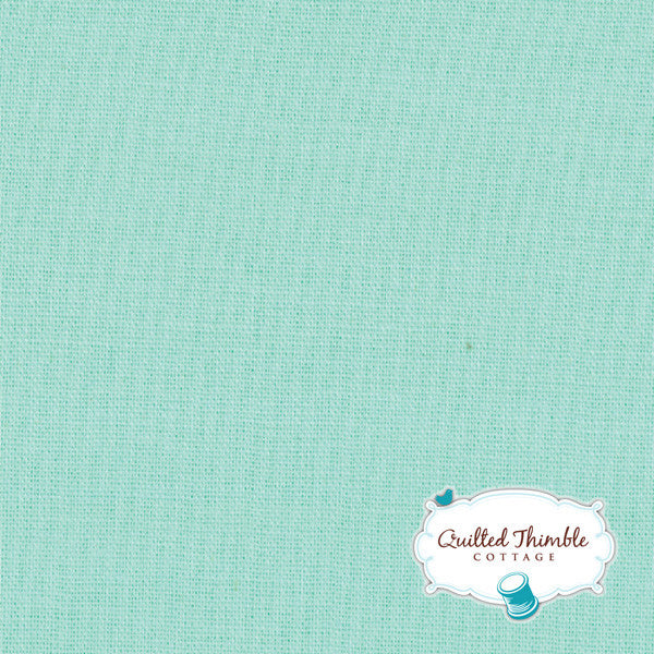 Bella Solids by Moda Fabrics - Aqua (9900-34)
