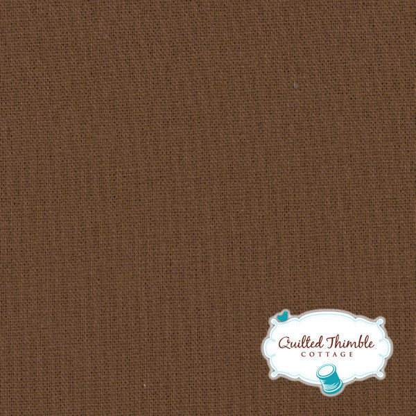 Bella Solids by Moda Fabrics - Chocolate (9900-41)