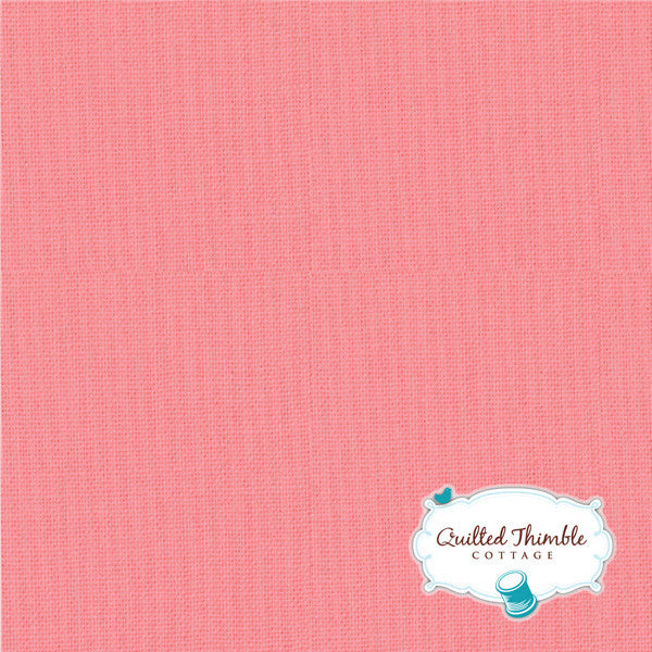 Bella Solids by Moda Fabrics - Tea Rose (9900-89)