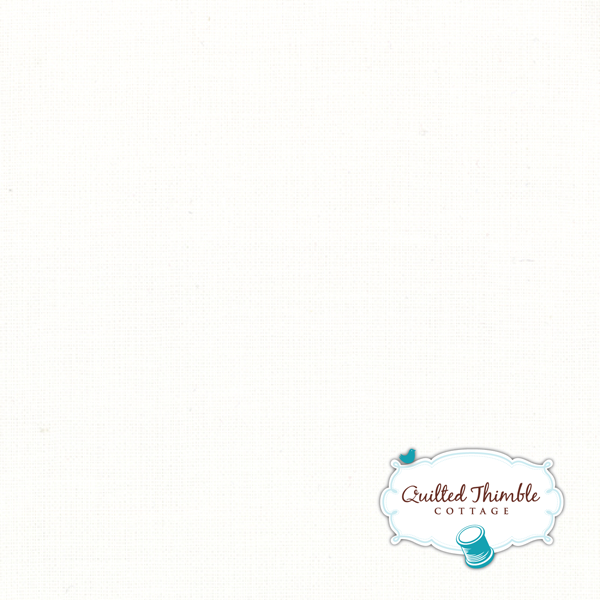 Bella Solids by Moda Fabrics - Bleached White PFD (9900-97)