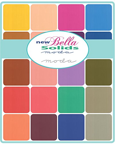 Bella Solids New by Moda Classics - Charm Pack (9900N5PP)