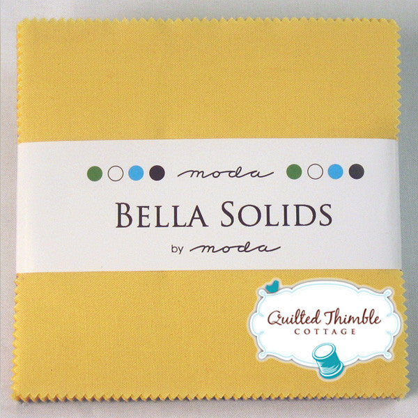 Bella Solids 30s Collection by Moda Fabrics - Charm Pack - (9900PP-23)