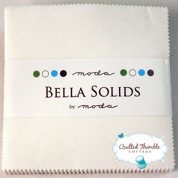 Bella Solids by Moda Fabrics - Charm Pack (9900PP-99)