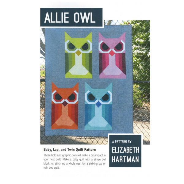 Pattern - Allie Owl by Elizabeth Hartman (EH-020)