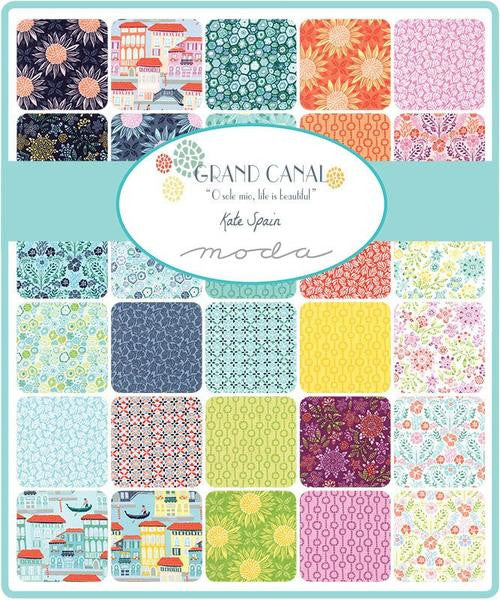 Grand Canal by Kate Spain - Layer Cake (27255LC)