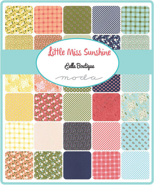 Little Miss Sunshine by Lella Boutique - Fresh Daisies in Leaf (5020-15)