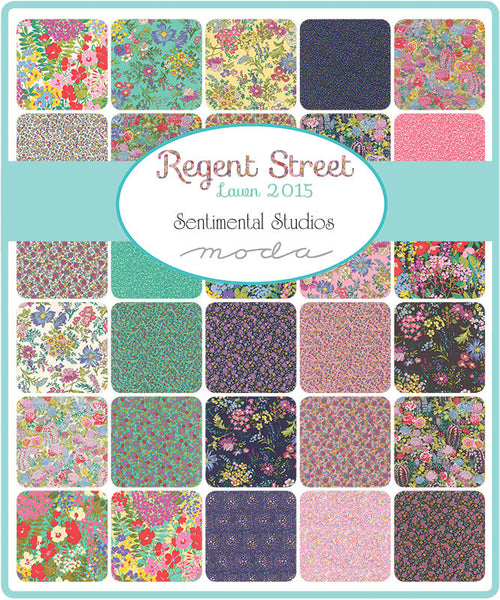 St Lawn Regent Street 2015 by Sentimental Studio - MINI Charm Pack (33080MC)