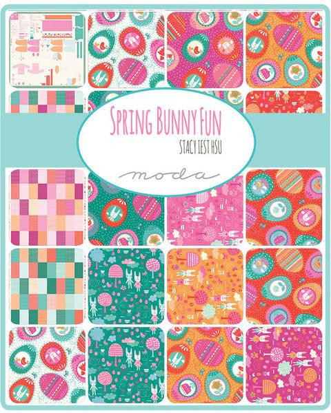 Spring Bunny Fun by Stacy Iest Hsu - Patchwork in Petunia (20541-12)