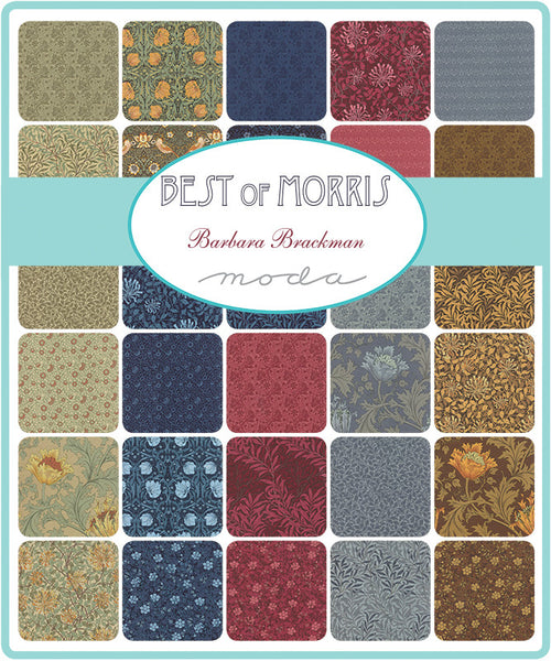 Best of Morris by Barbara Brackman - Willow Bough in Red (8113-25)