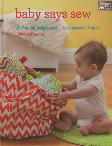 Book - Baby Says Sew by Rebecca Danger (B1252T)