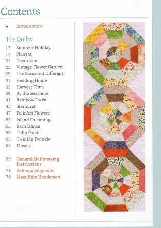 Book - Striking Strip Quilts by Kate Henderson