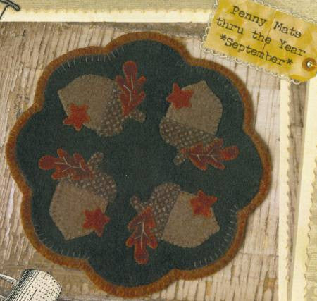 Pattern - Penny Mats Through the Year - September