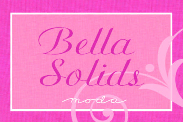Bella Solids by Moda Fabrics