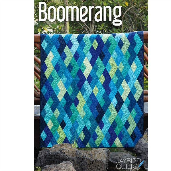 Pattern - Boomerang by JayBird Quilts (JBQ154)