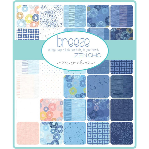 Breeze by Zen Chic - Scattered in White (1695-12)