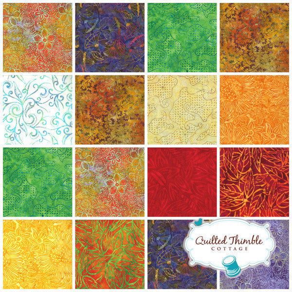 Breezy Batiks by Moda Fabrics - Fire (4323-21)