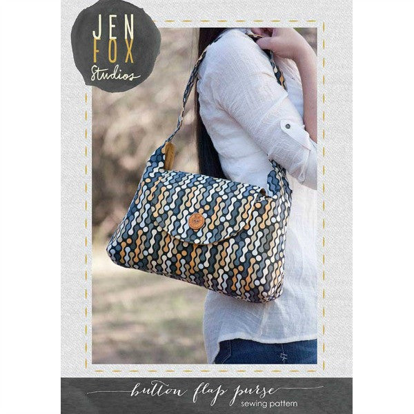 Pattern - Bottom Flap Purse by Jen Fox Studios (JG-007)