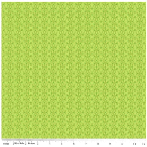 Glamper-licious by Samantha Walker - Glamper Geometric in Green (C6314-GREEN)