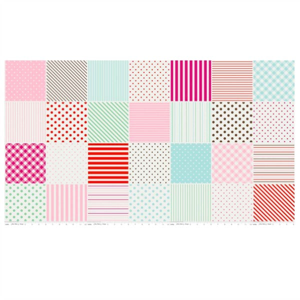 Little Dolly by Elea Lutz - Dolly Blocks in Pink (C6361-PINK)
